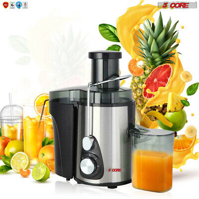 Electric Juicer Wide Mouth Centrifugal Juice Extractor 3Speed 5Core 306S