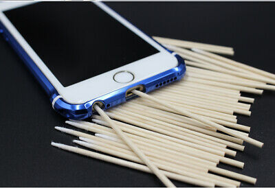 200Pcslot Cotton Stick Clean Tool for iphone Samsung Charge Port Phone Repair