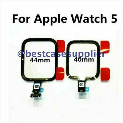 For Apple Watch iWatch Series 5 40mm 44mm Touch Screen Top Glass Digitizer Panel