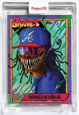Topps Project70® Card 34 - 1990 Ronald Acuna Jr by Alex Pardee - PRESALE