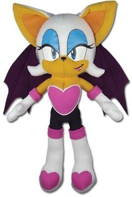 GENUINE Great Eastern GE-7542 Sonic The Hedgehog Rouge The Bat 11 Plush