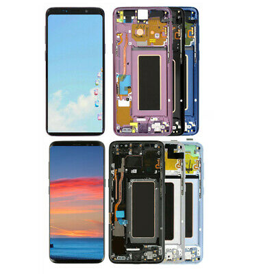 For Samsung Galaxy S8 S9 S9- Note9 OEM LCD Display Touch Screen Digitizer Frame