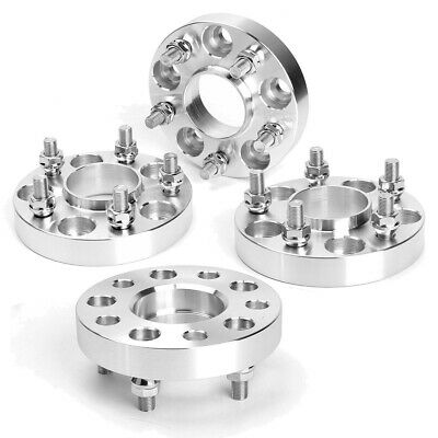"4x 25mm 5x127 Wheel Spacers 1/2""x20 71.5mm For JEEP WRANGLER JK GRAND CHEROKEE"