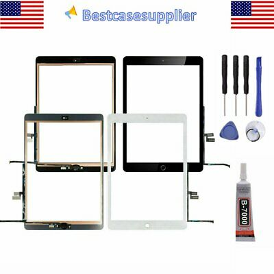 Touch Screen Glass Digitizer Replacement Home Button For iPad 7 2019 7th Gen10-2