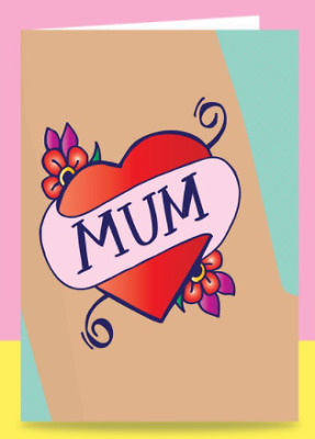 Mum Tattoo  Mothers Day Card  Able - Game