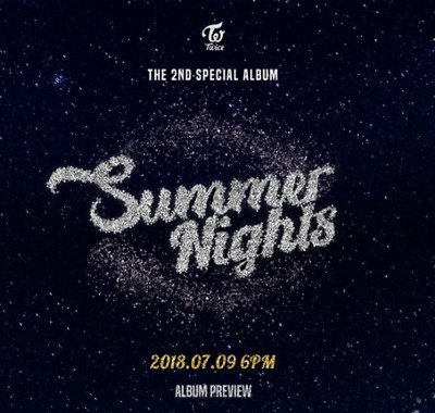 US SHIPPING Twice Summer Nights 2nd Special Album SELECT  CD-Book-Card-etc