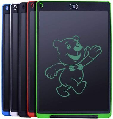LCD Writing Tablet 12 Inch Electronic Drawing Pads Doodle Board Gift Kid Office