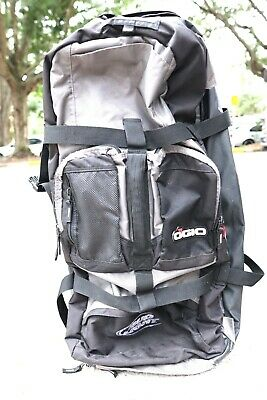 OGIO Sled Travel Bag - Black 32 Rolling Cart Luggage Bud Light Black