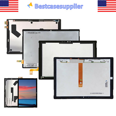 OEM LCD Touch Digitizer For Microsoft Surface 3 RT3 Pro 4 Pro 5 Pro 6 Book 12