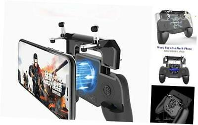 Mobile Game Controller for PUBGFortnite with Portable Power Bank Cooling