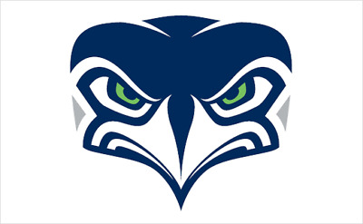 Seattle Seahawks 4 Inch NFL Color Die-Cut Decal  Sticker Free Shipping