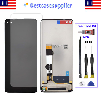 For Motorola One 5G UW 2020 LCD Display Touch Screen Digitizer Assembly Tools QC