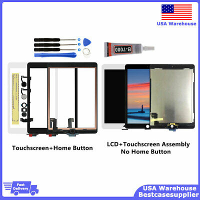 New For iPad Air 2 A1566 A1567 LCD Display Touch Screen Digitizer Tool Kit Glue