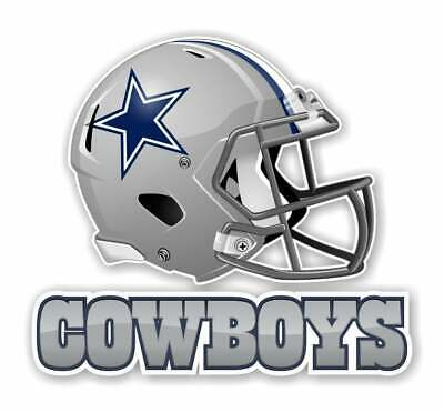 Dallas Cowboys 4 Inch NFL Color Die-Cut Decal  Sticker Free Shipping