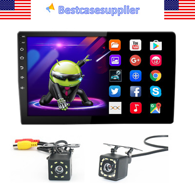 10-1in 2 Din Android 10-1 Touch Screen Car Stereo GPS FM Radio 1GB-16GB Camera