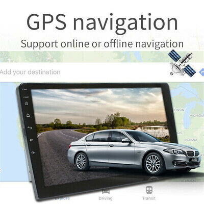 10-1in  2 Din   10-1 Touch Screen Car Stereo GPS FM Radio Player 1GB-16GB