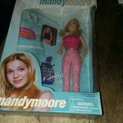 Mandy moore doll and jasmine doll