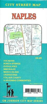 City Street Map of Naples Florida by GMJ
