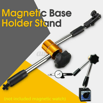 Flexible Universal Magnetic Metal Base Holder Stand Dial Test Indicator Tool