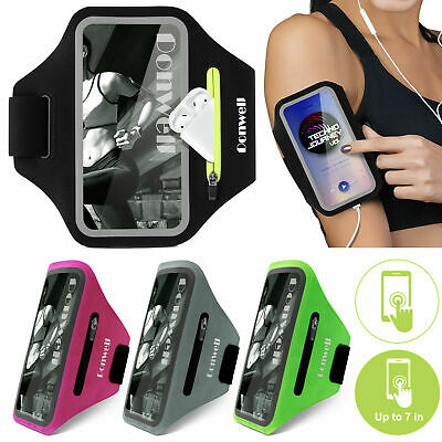 Arm Band Cell Phone Holder iphone 11 12 Case Sports Key Bag Running Armbands USA