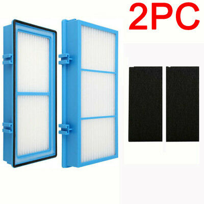 2x Replacement Air Purifier Filters Compatible with Holmes AER1 HEPA Type Total