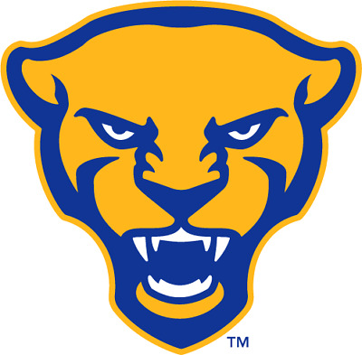 Pitt Panthers 4 Inch NCAA Die-Cut Decal  Sticker Free Shipping