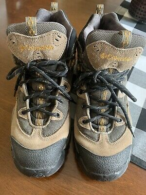 Columbia Trail Meister Mid Brown Black Hiking Boots Men's Size 8 BM3111-263