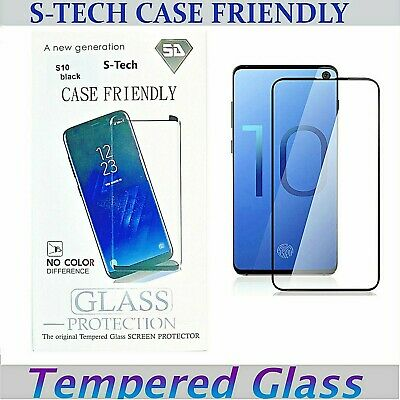 Galaxy S10   S10 PLUS Tempered Glass Case Friendly Screen Protector For Samsung
