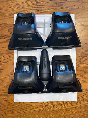 YAKIMA Skyline Towers Set of 4 for Roof Rack Vehicles Fixed Points