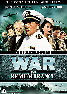 War and Remembrance The Complete Epic Mini-Series DVD 2008 13-Disc Set
