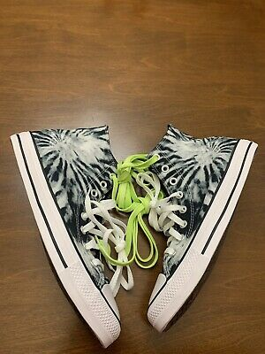 Converse Chuck Taylor All Star HI Twisted Vacation Tie Dye Size 9 Mens 167929F