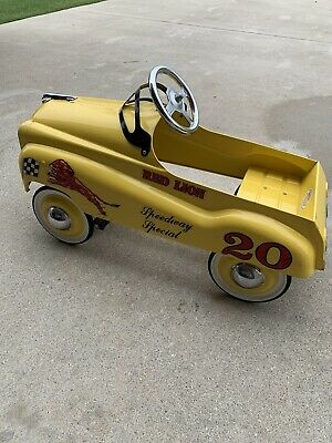 Gilmore Red Lion speedway special reproduction 1990s pedal car Rare Unique