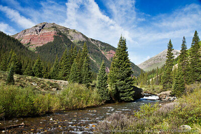 Colorado 20 Acre Placer Gold Mine Million Dollar Highway 10 S- Mineral Creek