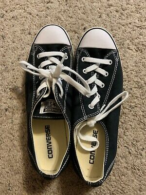 Converse Chuck Taylor All Star Dainty Low Top Womens Shoes Black 530054f Size 9