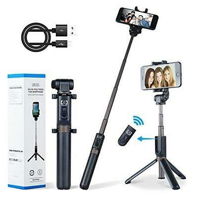 Apexel 2-in-1 Extendable Selfie Stick Monopod Tripod Stand with Wireless Remote