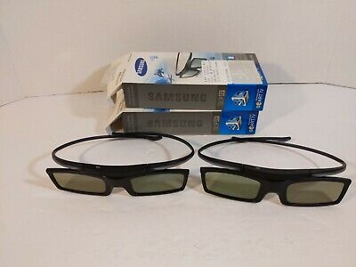 2 X Samsung SSG-5100GB Active 3D Glasses Battery Operated ModelsBlack