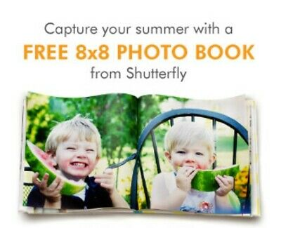 Shutterfly 8X8 Hard Cover Photo Book - Storytelling Style Code exp 2282022