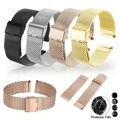 For Samsung Gear S3 FrontierClassic Watch Band Stainless Steel Strap Bracelet