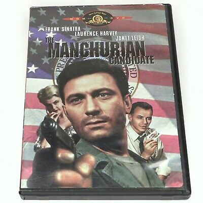 The Manchurian Candidate DVD1998 1962 Frank Sinatra Janet Leigh Free Shipping