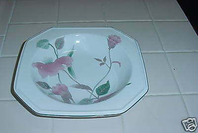 MIKASA CONTINENTAL SILK FLOWERS SOUP  SALAD  CEREAL BOWL FINE CHINA GC