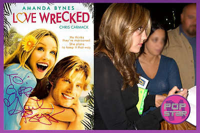 Amanda Bynes SIGNED Love Wrecked DVD Shes The Man Hairspray COA