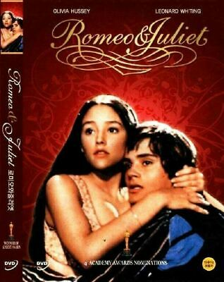 Romeo and Juliet 1968 New Sealed DVD Olivia Hussey