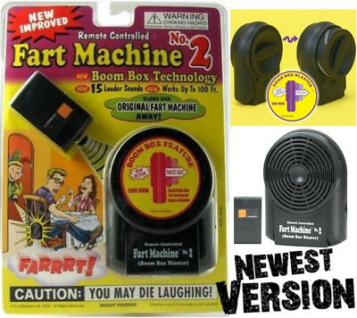 Fart Machine No- 2 - Wireless Remote Controlled  Newest Improved Model