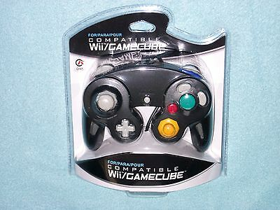 Brand New Controller for Nintendo GameCube or Wii - BLACK