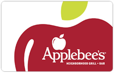 Applebees Gift Card - 25 50 or 100 - Fast Email delivery