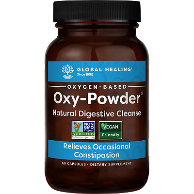 Oxy-Powder Colon Cleanser - Natural Laxative Overnight Constipation Relief Pills