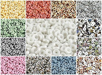 CHOOSE COLOR 10g cca 80pcs 6mm MATUBO Wheel Beads Czech Pressed Glass