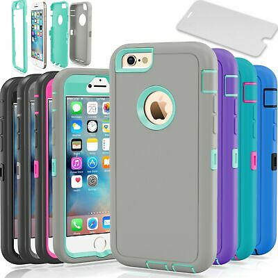 Protective Hybrid Shockproof Hard Case Cover For Apple iPhone 6 Plus  6S Plus
