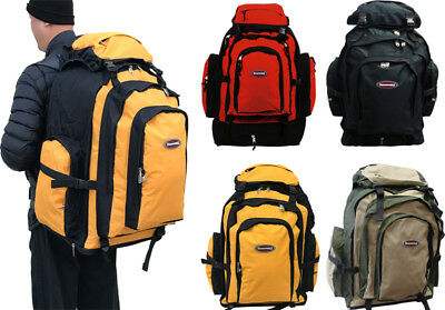 26 Expandable Extra Large Durable Expandable Travel Camping Hiking Backpack