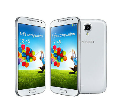 New Samsung Galaxy S4 GT-I9500 Unlocked Android OS Smartphone 16GB - White
